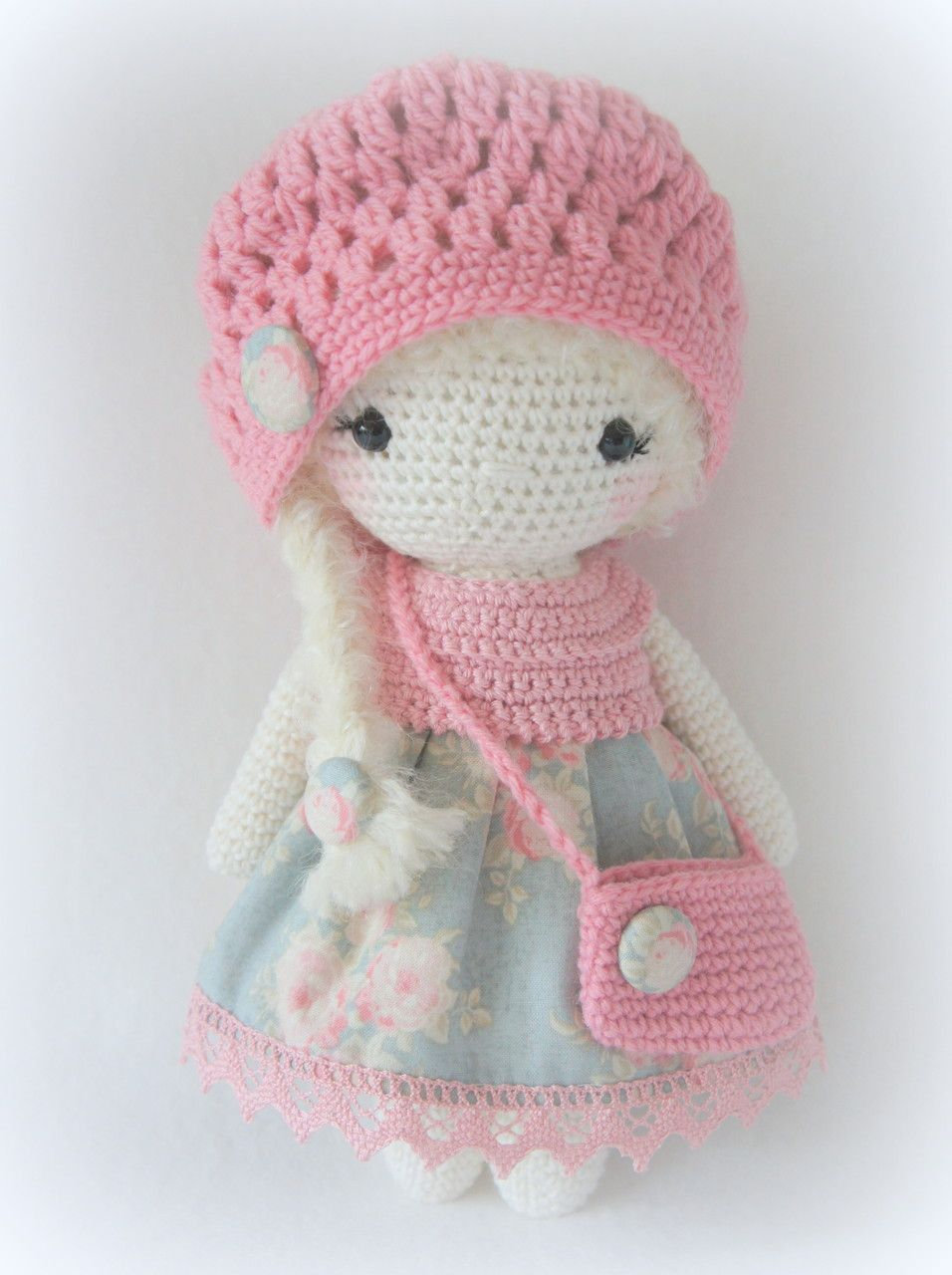 crochet-doll | D :: Doll and Toy | Pinterest | Ich freue mich auf ...