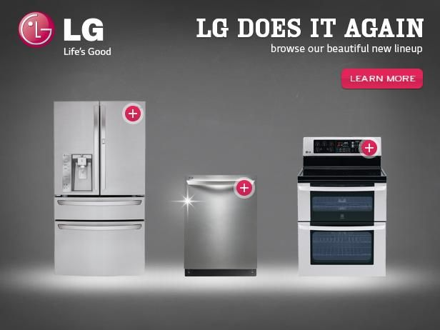 Life S Good In The Kitchen With Lg Home Appliances Kitchen