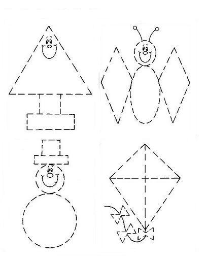 Recursos para el aula: formas geométricas para recortar Las formas ...