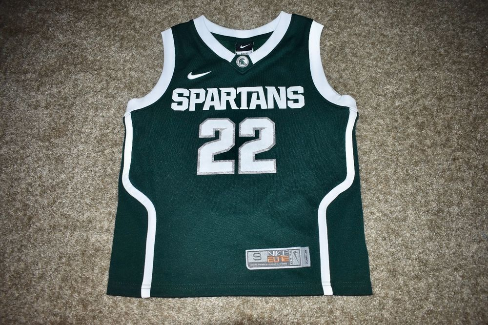 185f1a60b5b ... nike elite michigan state msu basketball 23 jersey kids youth boys  small 8 10 nike everyday