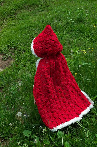 A cape sweet enough for any fairy-tale! Lacy and fun, this piece is ...