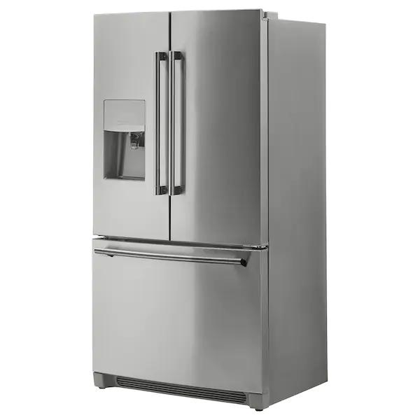 Stjarnstatus French Door Refrigerator Stainless Steel 21 7 Cu Ft Ikea In 2021 French Door Refrigerator Stainless Steel Refrigerator Refrigerator