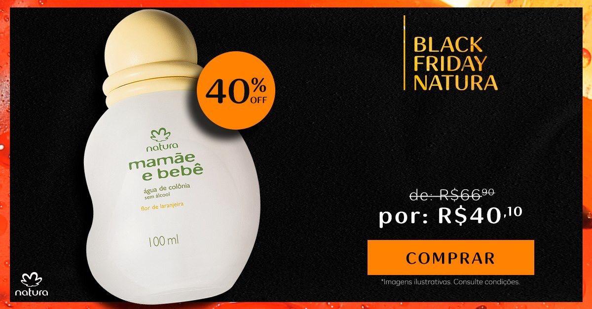 Pin De Consultora De Beleza Natura Je Em Black Friday Agua De