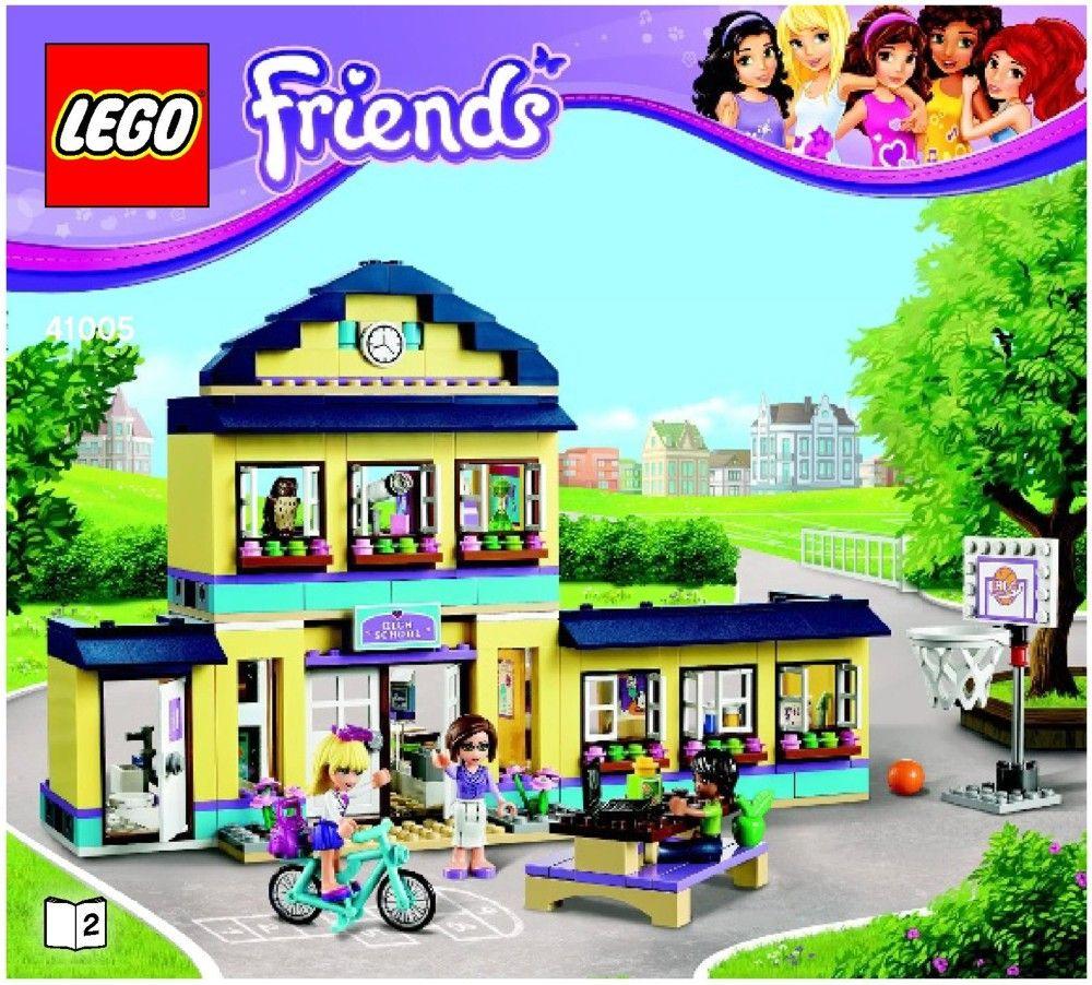 lego friends stephanie beach house instructions
