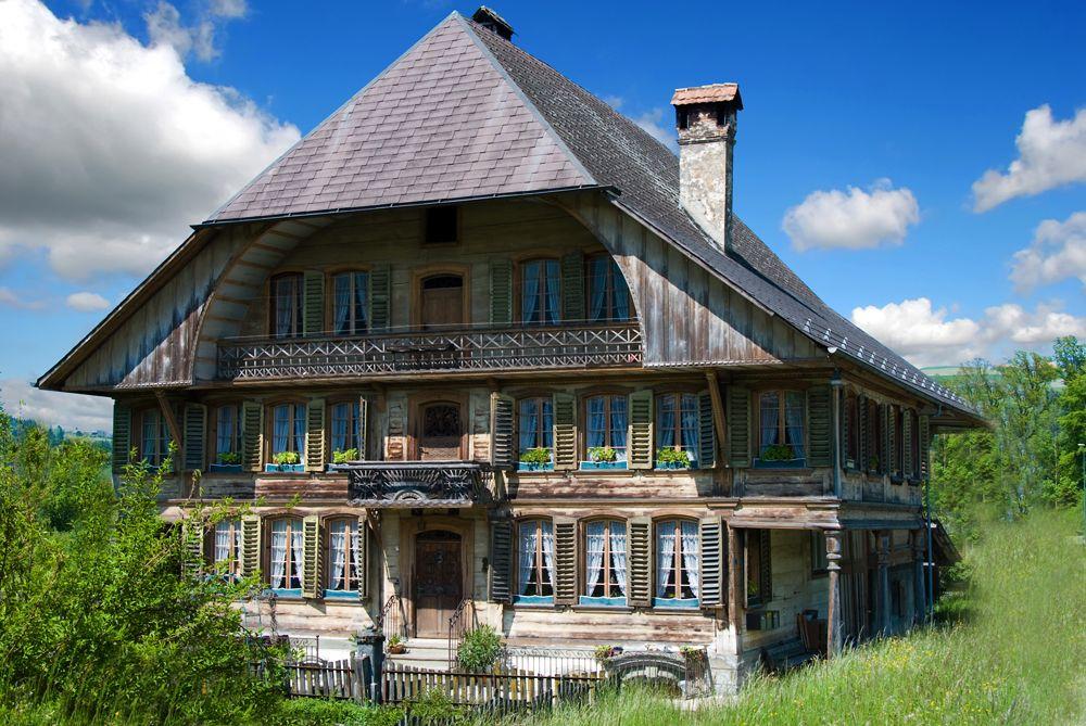 Emmentaler Bauernhof BE Bauernhaus, Haus, Bauerhöfe