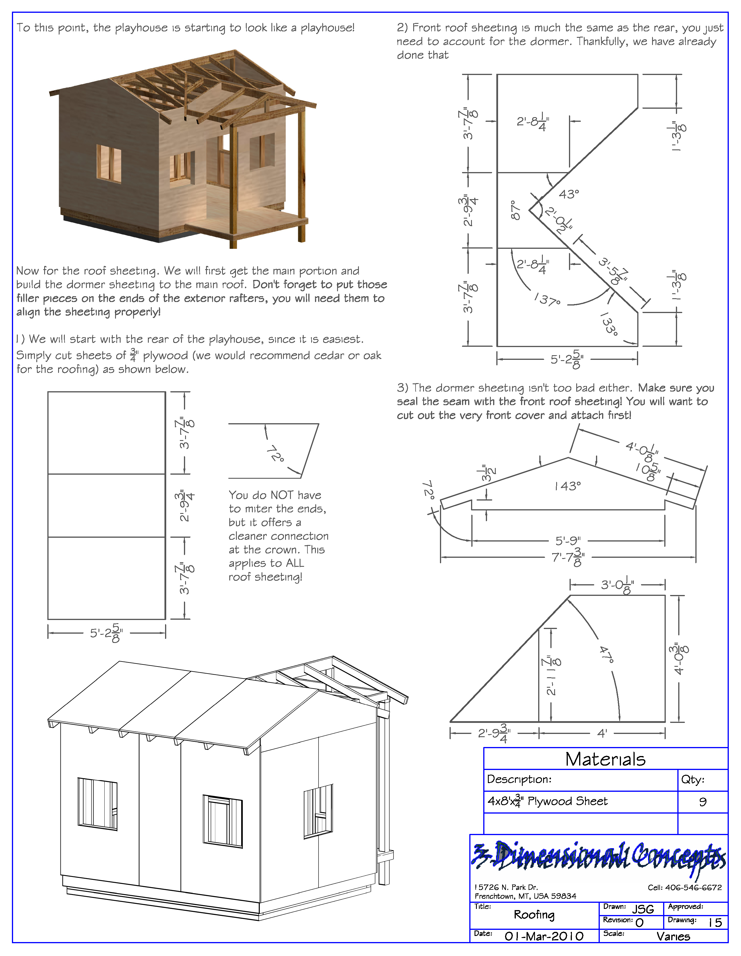 Playhouse For Kids Playhouse Plans Child S Outdoor Wood Playhouse B Play Houses Playhouse Plans Wood Playhouse