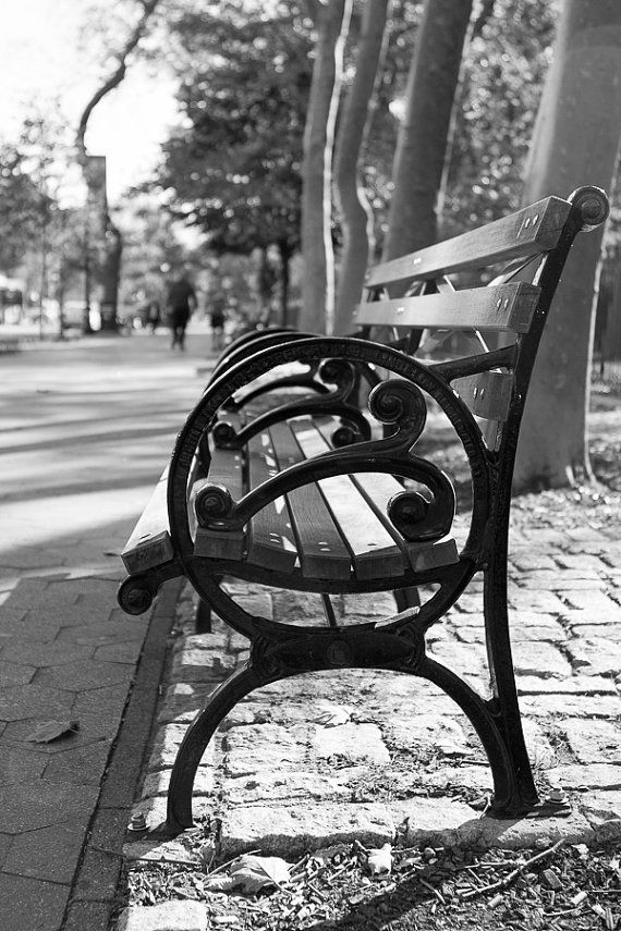 New York City Photography Nyc Park Bench Upper West Side Wanderlust