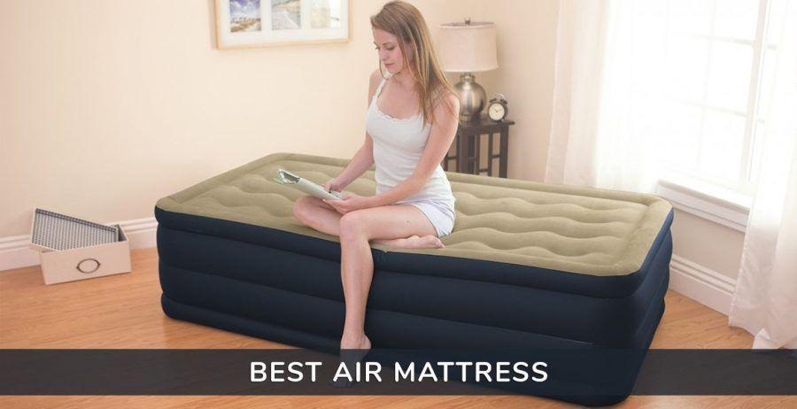 Best Air Mattress Of 2018 Reviews Buyer S Guide Https Www Voonky Com Best Air Mattress Voonky Sleep Airmat Air Mattress Mattress Mattress Guide