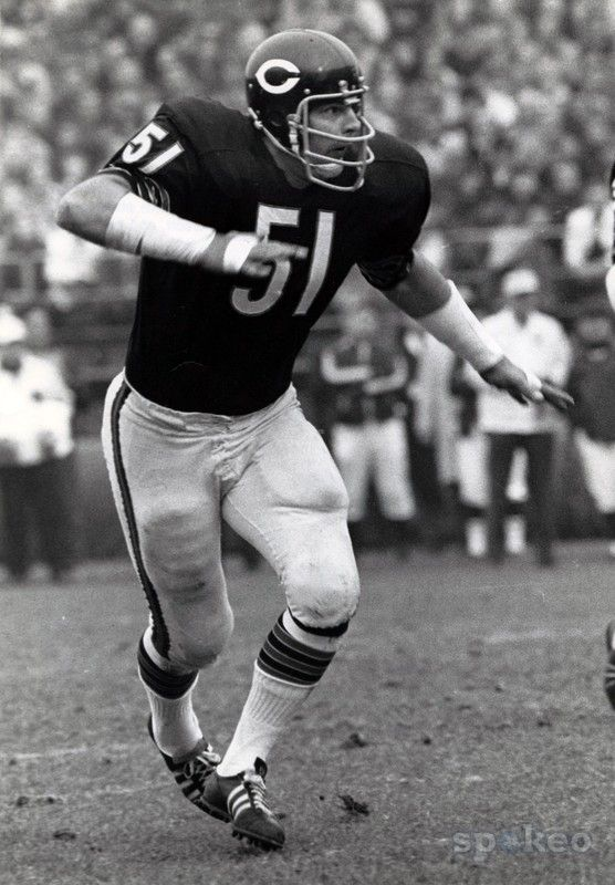 acec47bd Dick Butkus, Chicago Bears. Ok, Dick Butkus was never at grandma's ...