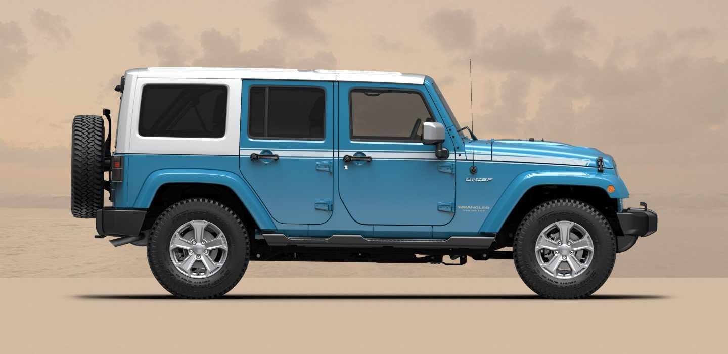 Jeep Wrangler Smoky Mountain >> New Jeep Wrangler/ Wrangler Unlimited Trims: Chief, Smoky
