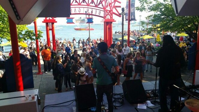 Jamming @ Navy Pier in Chicago. IL June 27th