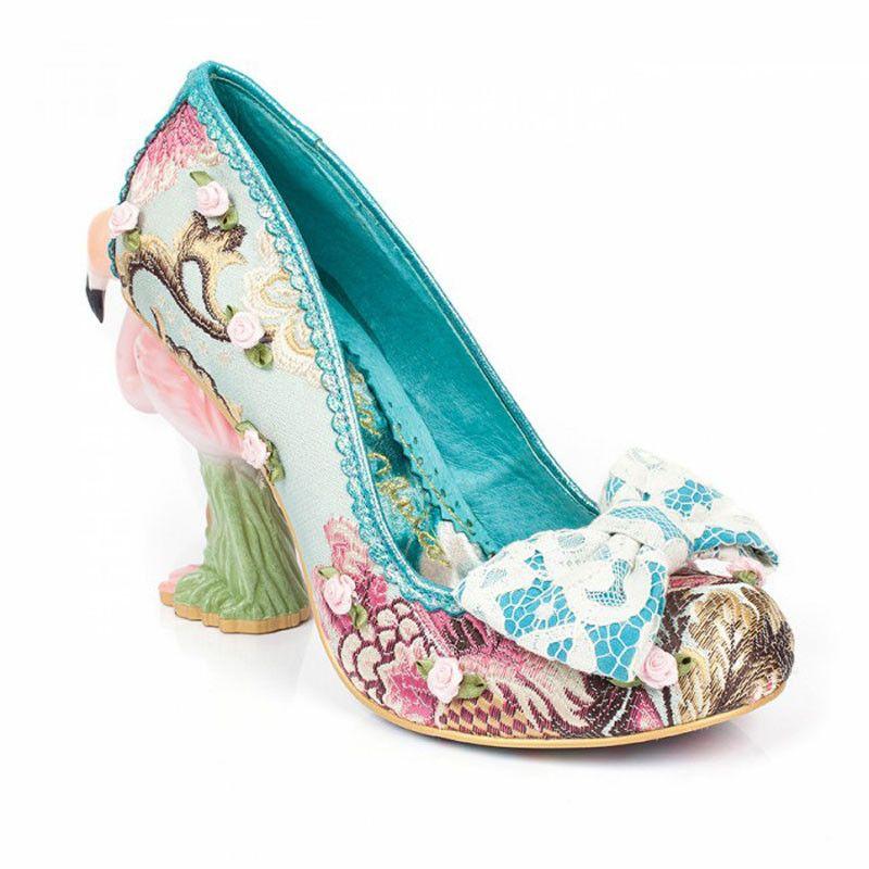 Kitten heel wedding shoes