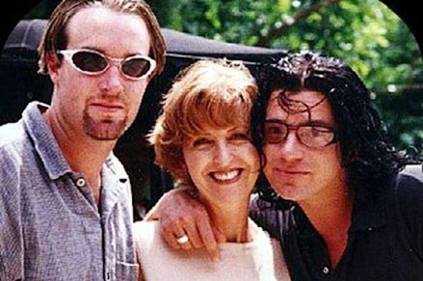 Tina-Hutchence-with-her-half-brother-Michael-Hutchence-1996.jpg (615×409)