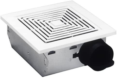 Broan Nutone 688 Ceiling And Wall Ventilation Fan 50 Cfm 4 0 Sones White Plastic Grille Built In In 2020 Bathroom Extractor Fan Ceiling Exhaust Fan Ventilation Fan