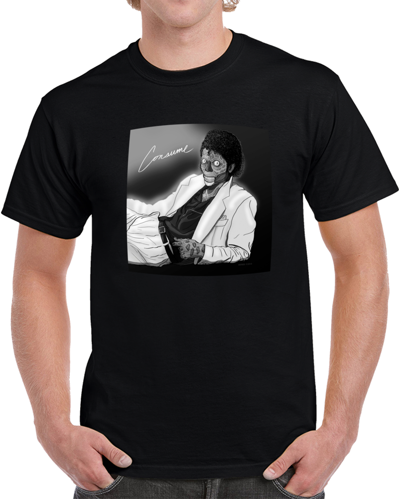 Thriller Consume Pop King  T Shirt