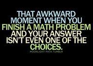 Story of my life! Thats when eeenie meanie miney mo comes in handy! :)
