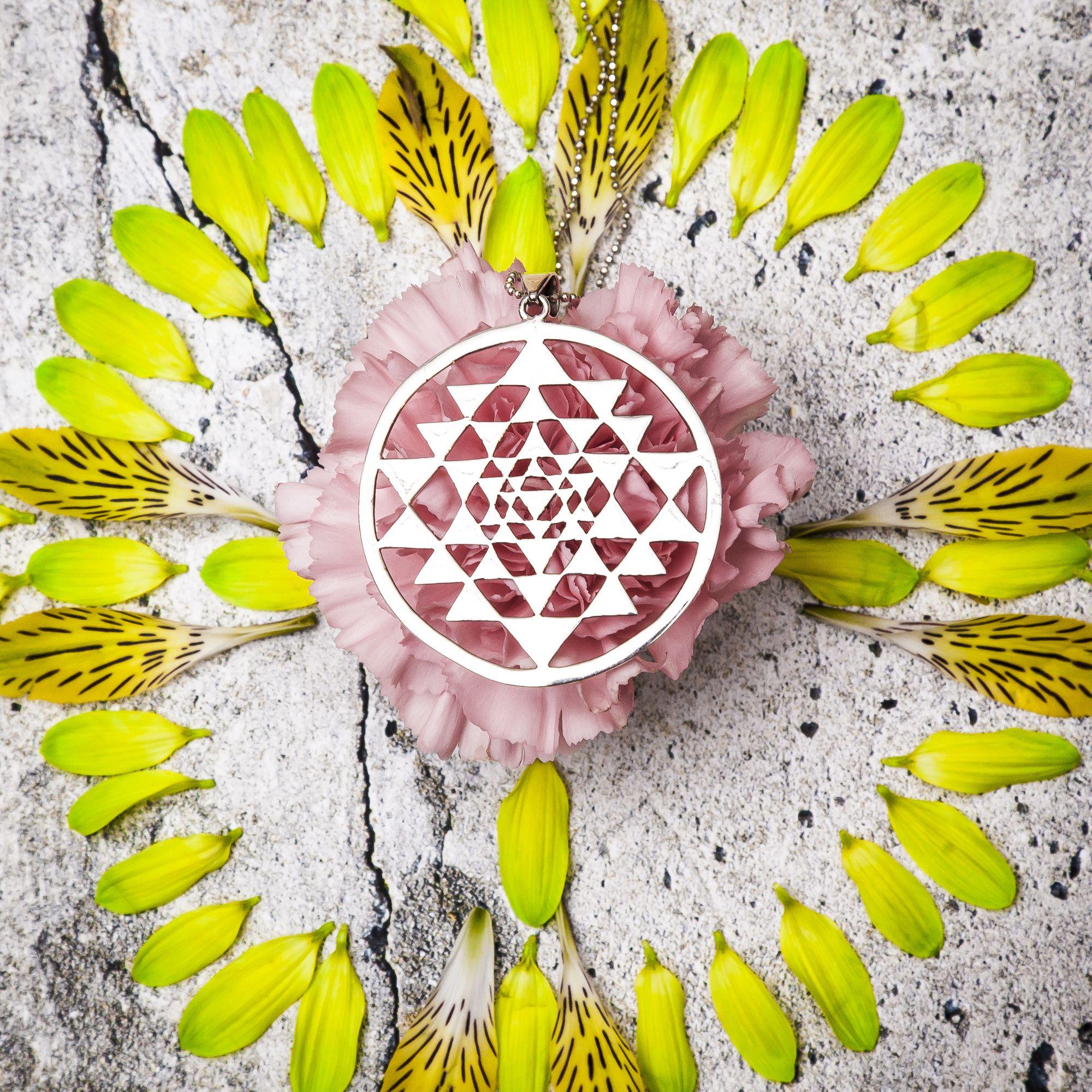 Sri Yantra Pendant  #om #sriyantra #yogic #accessories #namaste   http://saraswatimoon.myshopify.com/search?q=sri+yantra+&search-button.x=0&search-button.y=0
