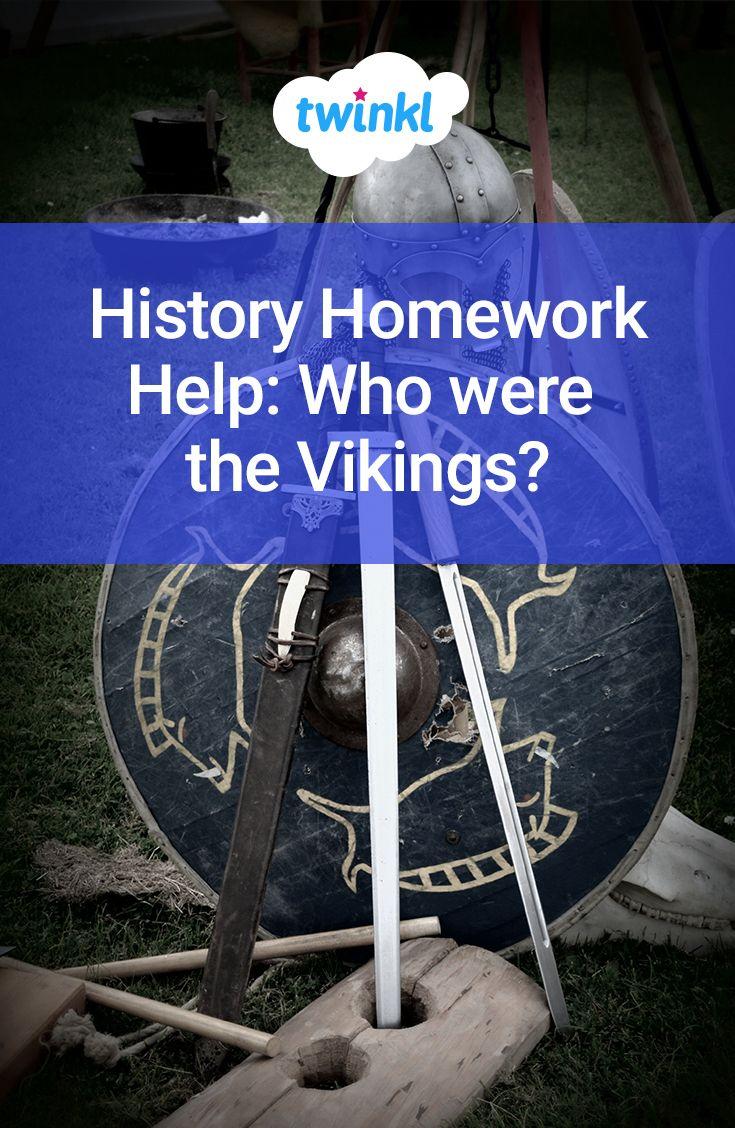 Viking houses homework help