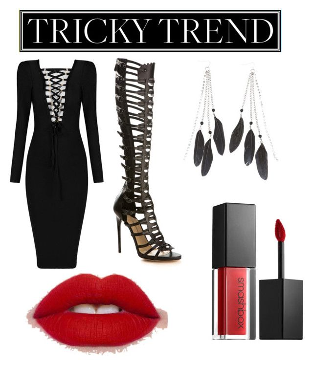 """""""Going out and about"""" by itsyoboiiyoungdc ❤ liked on Polyvore featuring Paul Andrew, Smashbox, Charlotte Russe, TrickyTrend and culottes"""