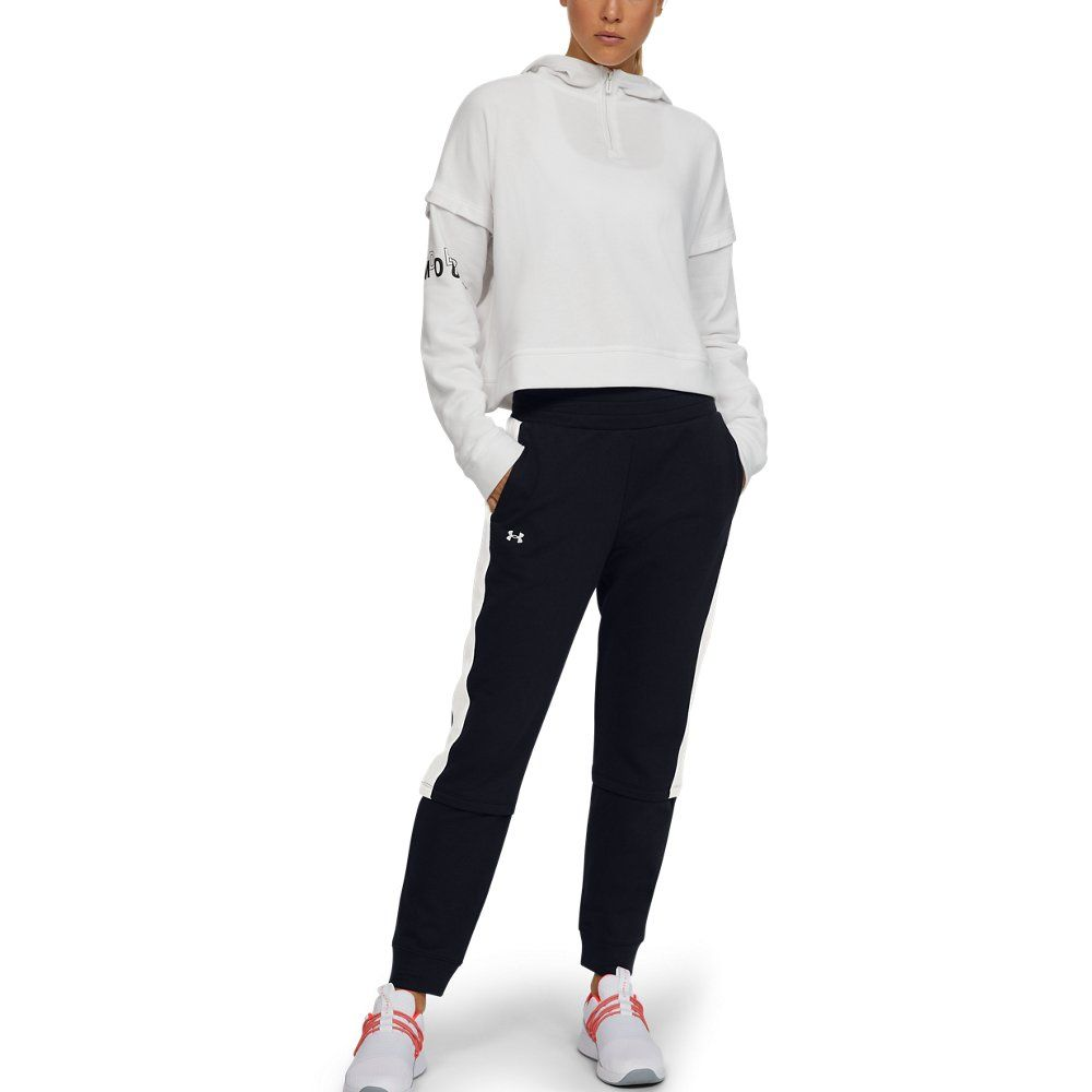 Photo of Under Armour Womens Rival Terry Joggers – Black XS