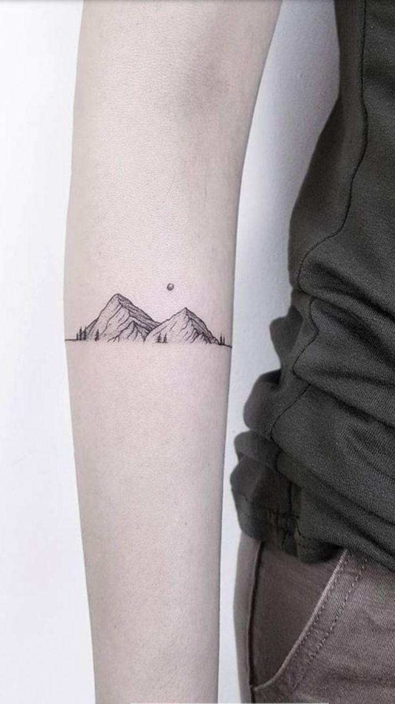Photo of Die Linien des Berges sind cool