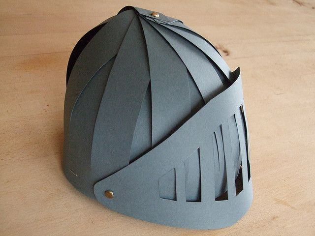 Helmet of Salvation... no instructions... but it a start