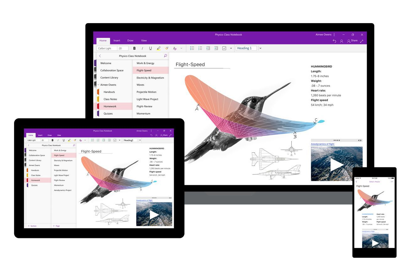 Microsoft redesigned OneNote's interface to be more