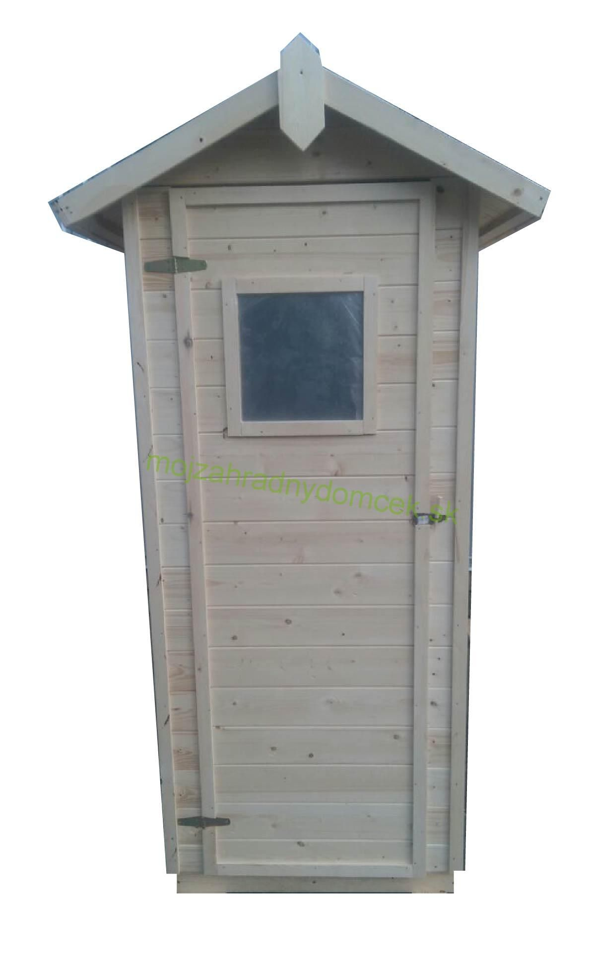 8d76f2ab6 Drevená latrína /suché WC so sedenim a oknom, 1 x 1m, 16mm | Chalupa ...