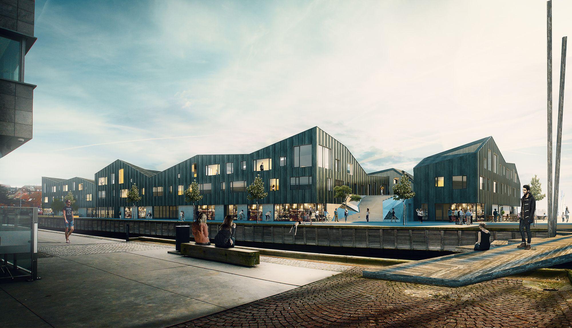 Kullegaard vence concurso para o complexo portuário de Holbæk, Dinamarca