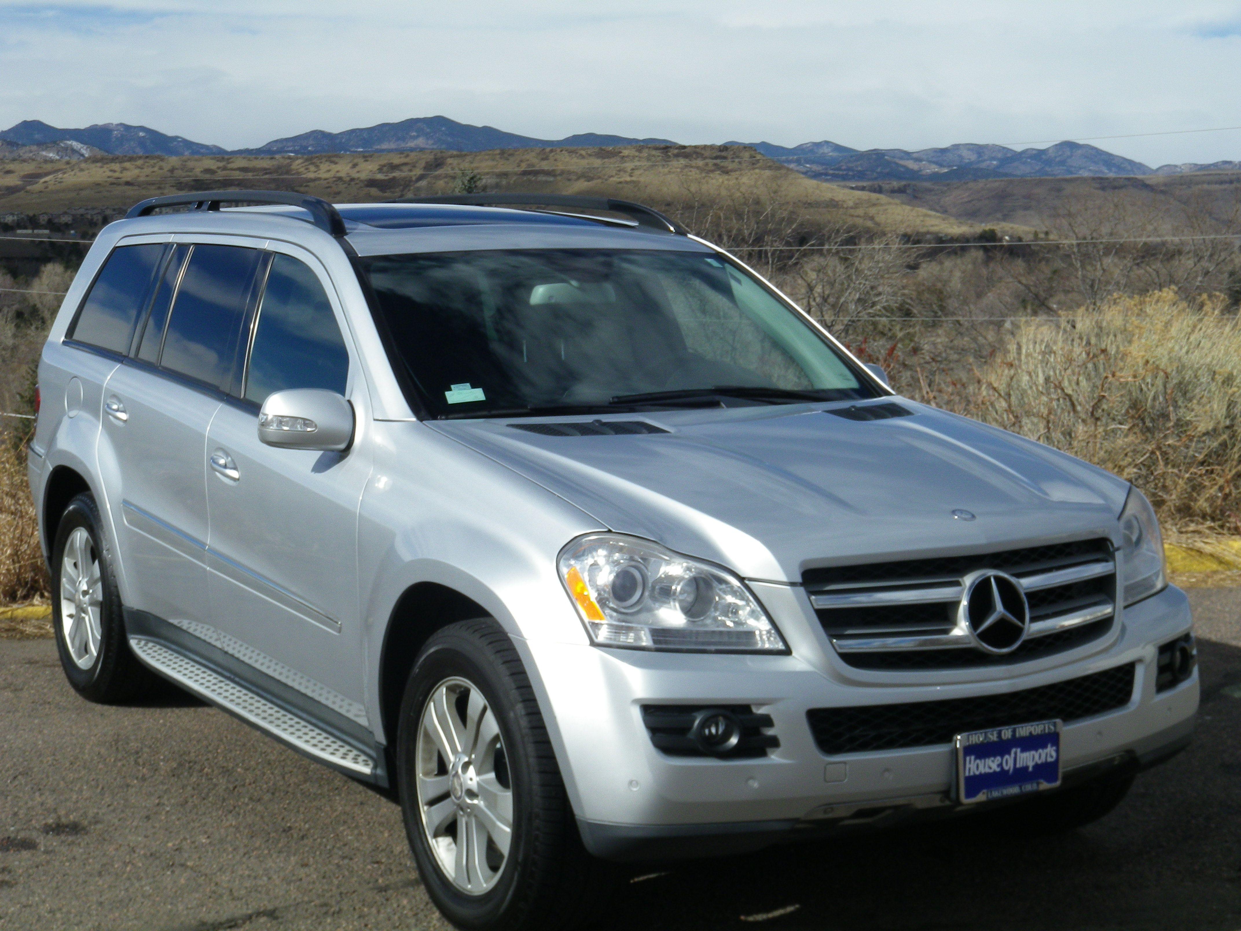 Great 2008 Mercedes Benz GL450 4 Matic Odometer: 76,873 V.I.N. #:  4JGBF71E68A411138 Stock #