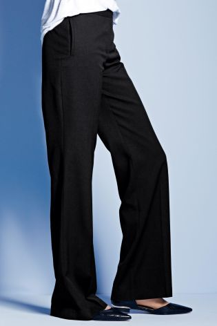 Plus Size Black Slouch Trousers from Next | For the Tall, Small ...