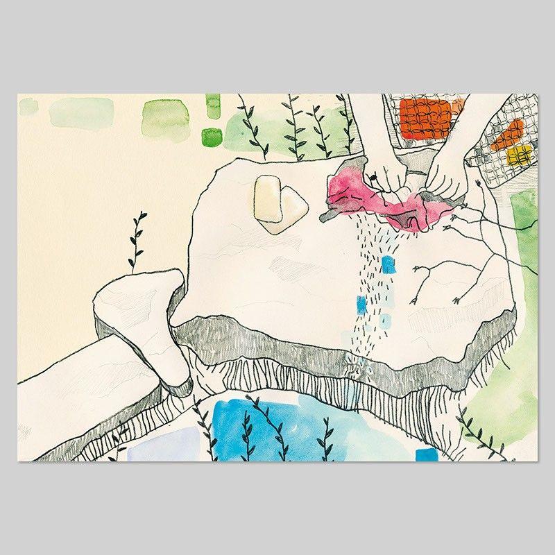 Laura Fanelli - I panni -Stampa Fine Art A4 16€ -Stampa Fine Art A3+ 24€