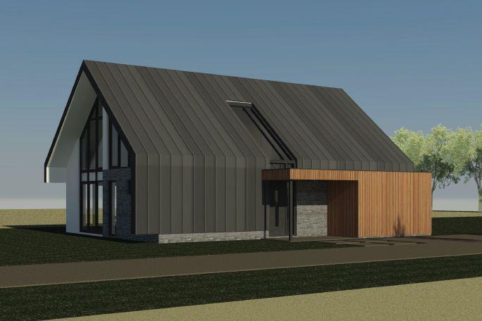 Projecten architectenbureau zwolle al architectuur for Huizen architectuur