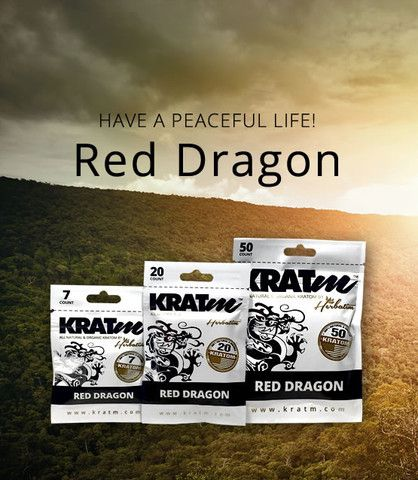 100% All Natural Red Dragon (Mitragyna Speciosa) raw leaf that is micronized into fine powder and capsulized. Superior Red Dragon has set a new bar for the best Kratom one can buy! This strain comes from an exclusive plantation in South East Asia where the climate, soil, and mature Kratom trees come into perfect harmony to produce the worlds finest Kratom!