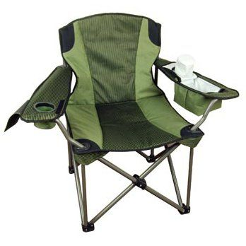 extra wide lawn chairs ergonomic chair in bangalore amazon com big tall folding camp super strong padded drink holder patio garden