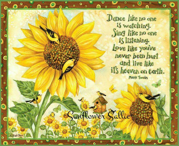Pin By Dottie Ost On Beauty Sunflower Quotes Sunflower Sunflower Pictures