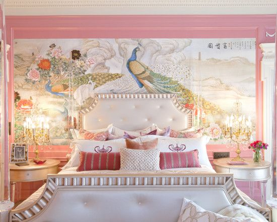 Best Hollywood Regency Glamour Boudoir Bedroom Maison Kiss Kiss 640 x 480