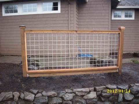 hog panel gate hog panel fencing galvanized wire with wood frame ...
