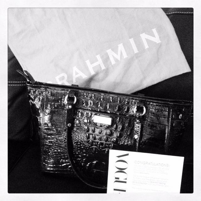 Brahmin Spring 2012  Being a Vogue Influencer = An honor, Receiving surprises like these from Brahmin thanks to Vogue = priceless