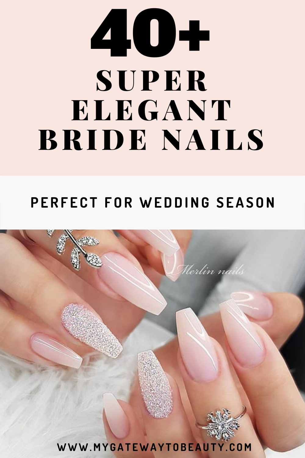Contact Support In 2020 Wedding Acrylic Nails Bride Nails Wedding Nails Design