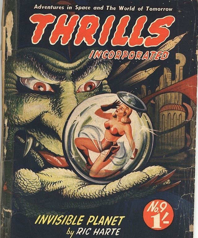 Pin On Pulps & Magazines