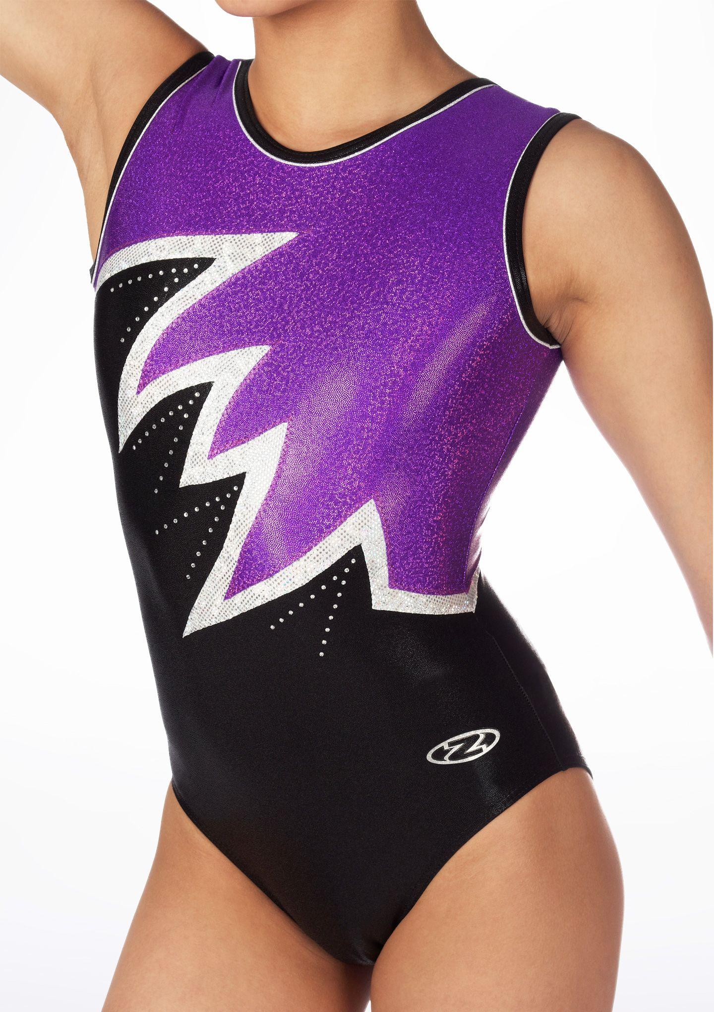 ESHOO Girls Gymnastics Leotards Metallic Shorts