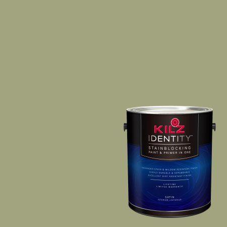 Kilz Identity Interior Exterior Stainblocking Paint Primer In One Lg150 02 Rosemary Plant 1 Gallon Products Exterior Paint Paint Primer Exterior Siding