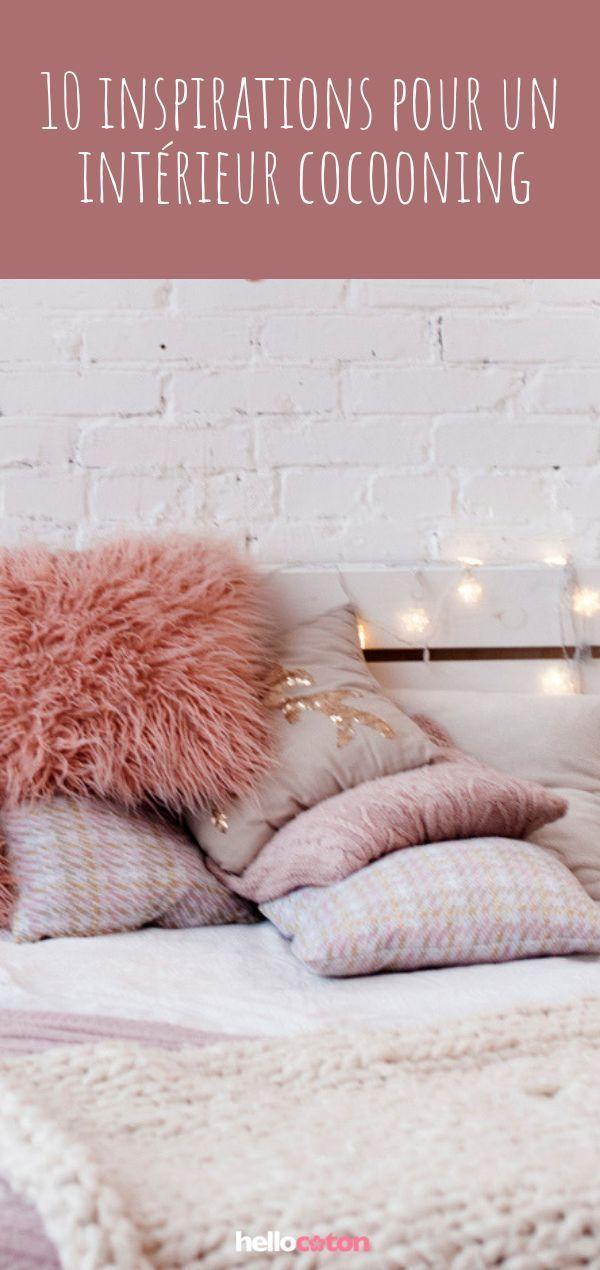 1 inspirations déco pour un intérieur cosy, hygge et cocooning ! #déco #cocoo #décorationmaisoncocooning