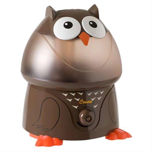 Crane Adorable Ultrasonic Cool Mist Humidifier Owl