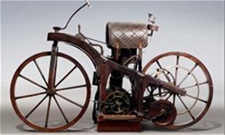 اولین موتور سیکلت جهان عکس اخبار عمومی غرفه ۲۴ Gottlieb