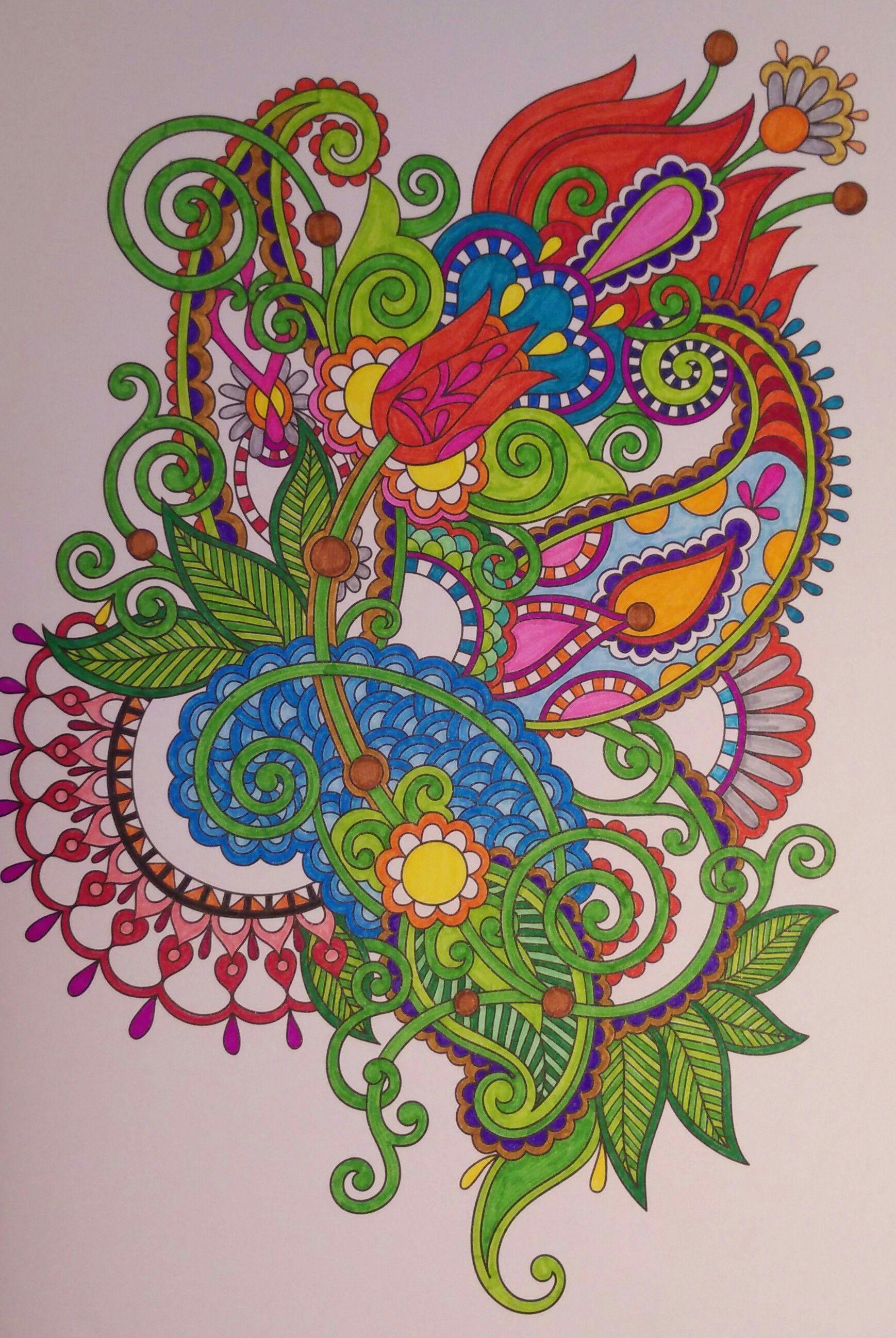 aus das kreative Malbuch für Erwachsene Nr. 2 | Adult Coloring ...