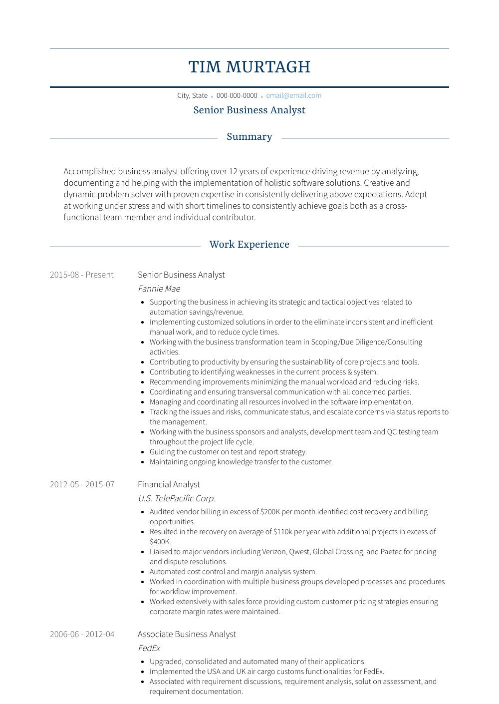Business Analyst Resume Sample Resume Objective Business Analyst Eymir Mouldings Co It Business Analyst Resume Human Resources Resume Job Resume Examples