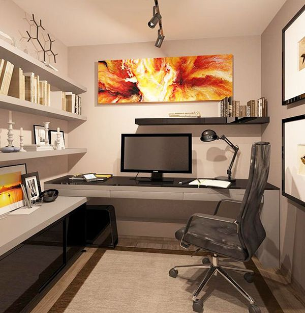 Designing Tips For A Small Office Room