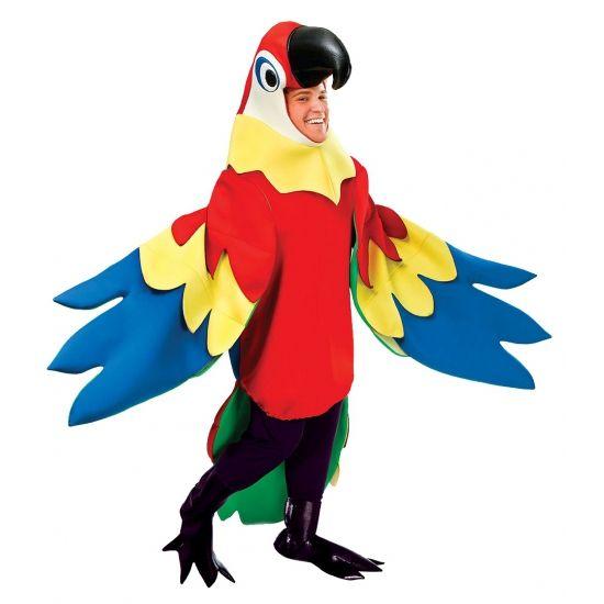 Festicketu0027s top 5 costume ideas for the Bestival 2014 Desert Island Disco fancy dress theme.  sc 1 st  Pinterest & Luxe papegaaienpak verkleedkleding. Carnavalskleding 2016 #carnaval ...